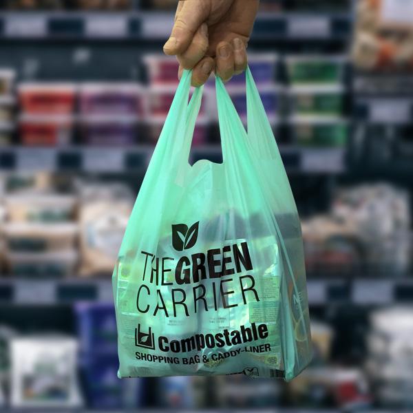 An eco-friendly shopping bag